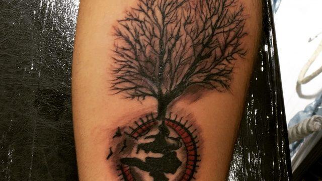 soy ağacı dövme modelleri