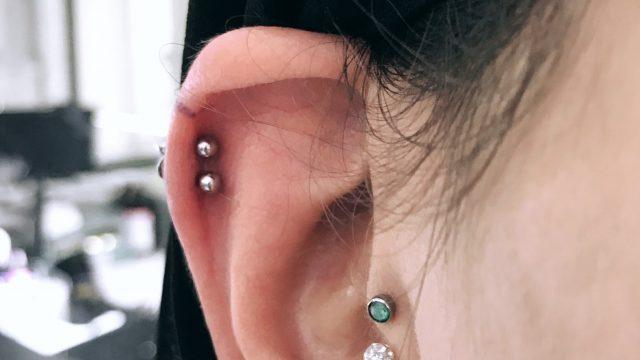 kıkırdak tragus piercing
