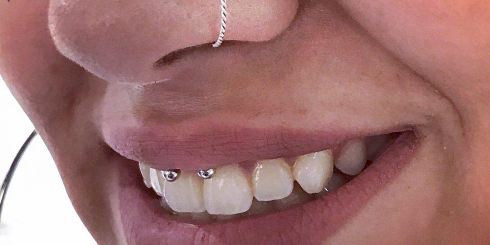 burun piercing tam halka