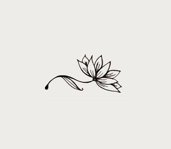 lotus dövme modeli