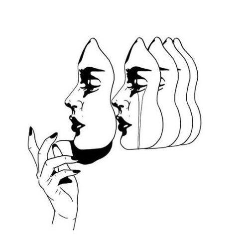 no mask tattoo desing