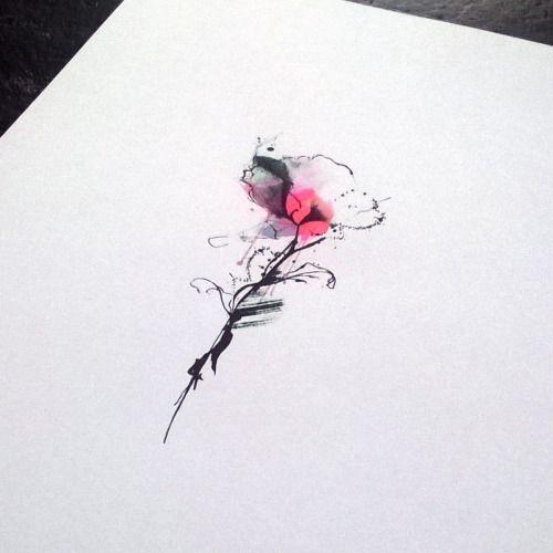 flowers tatto desing