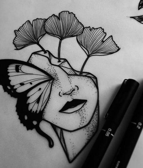 kelebek çiçek