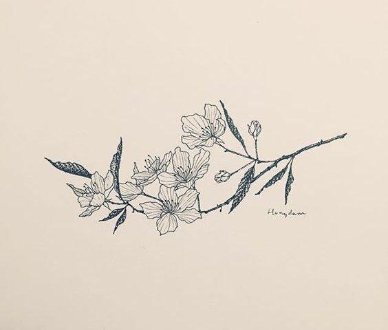 çiçek dövmesi modeli