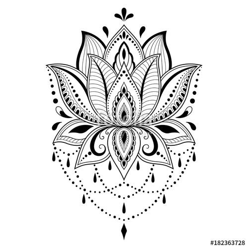 lotus mandala tattoo desings