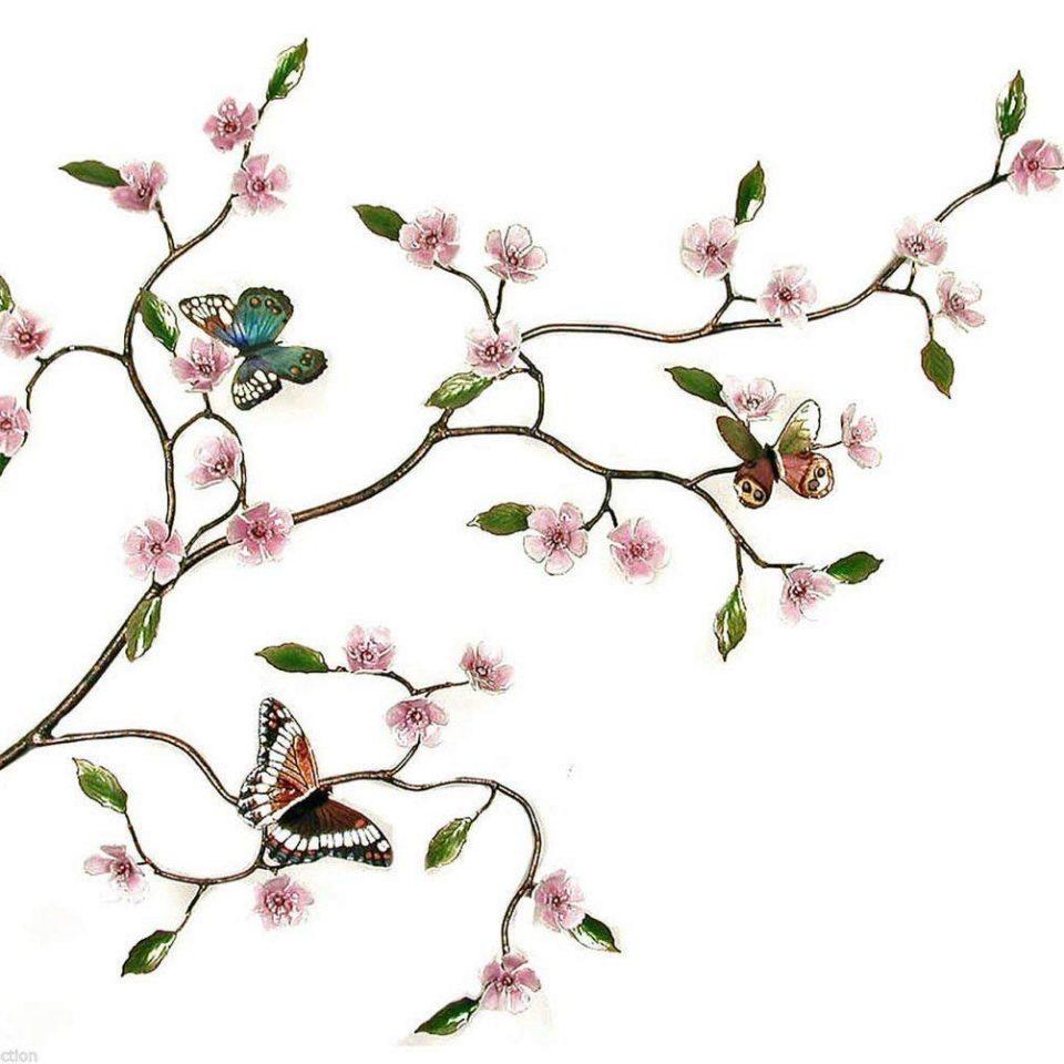 çiçek dalı dövme modeli