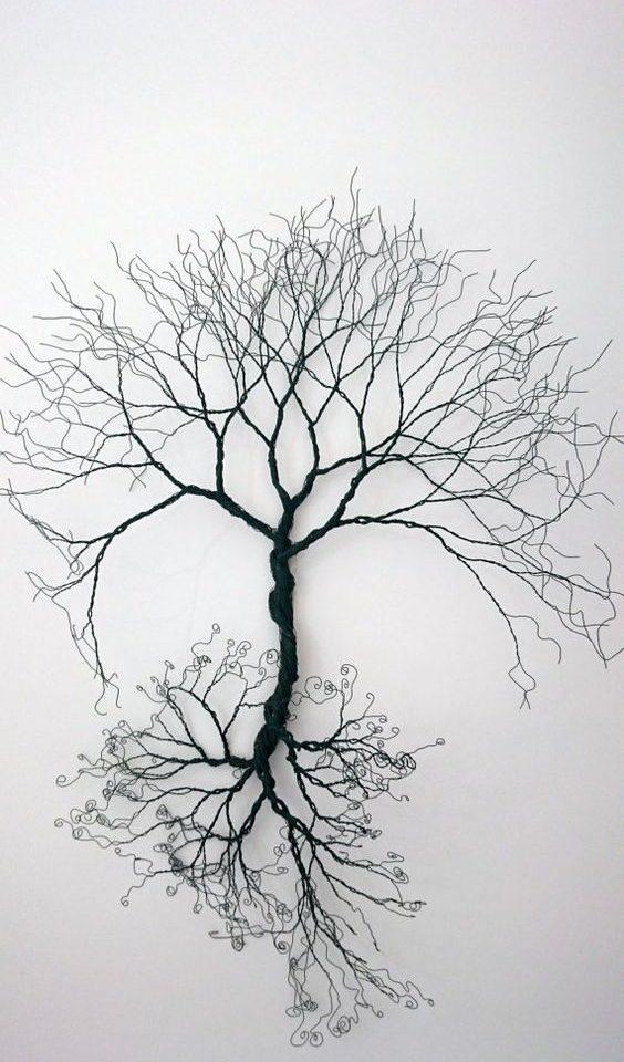 soy ağacı dövme modeli
