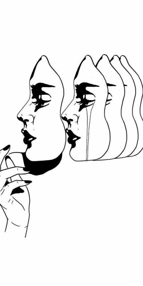 mask dövme modeli