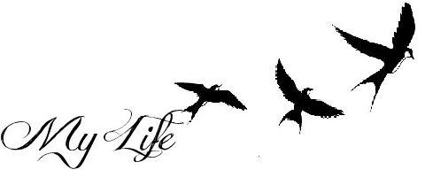 life tattoo desing