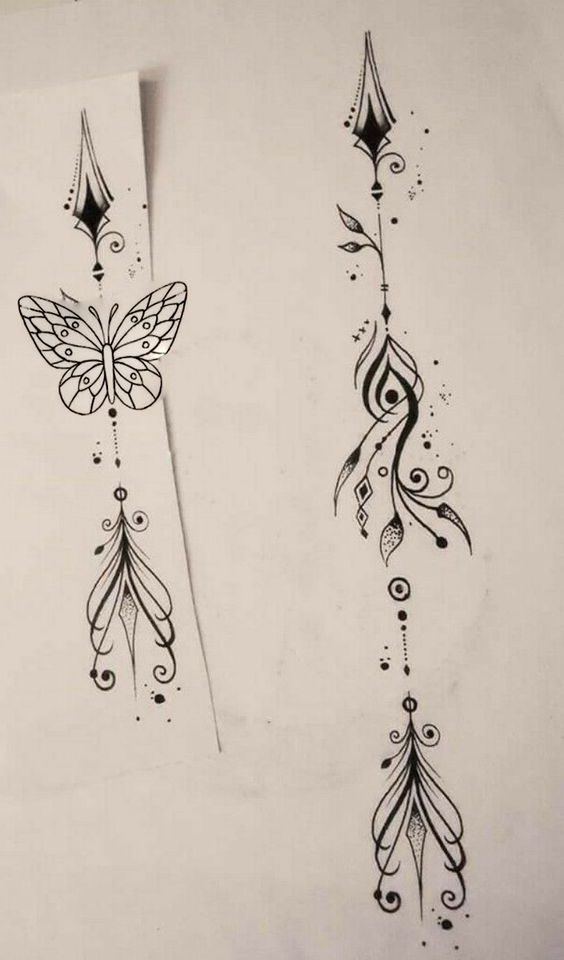 arow tattoo desing