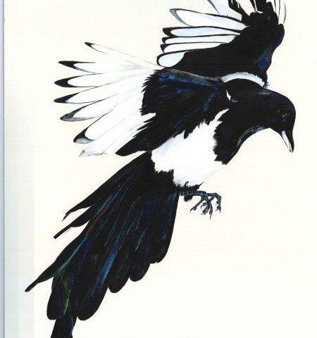 kuş dövme modeli