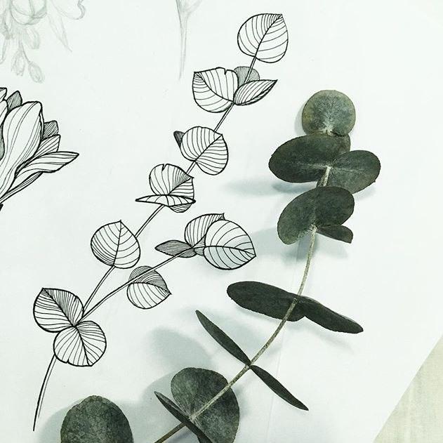 çiçek çizim